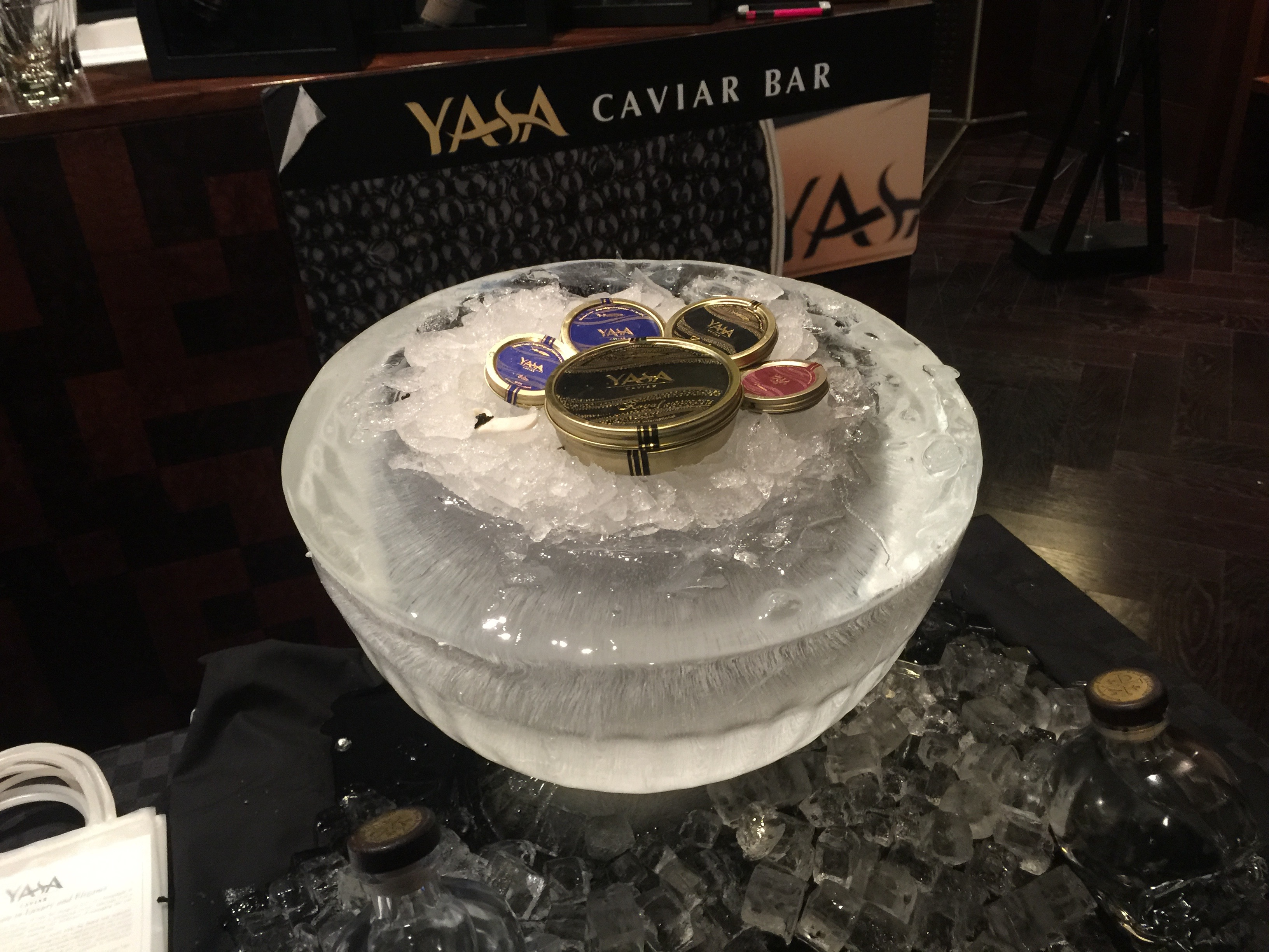 They had Caviar. I had Caviar.