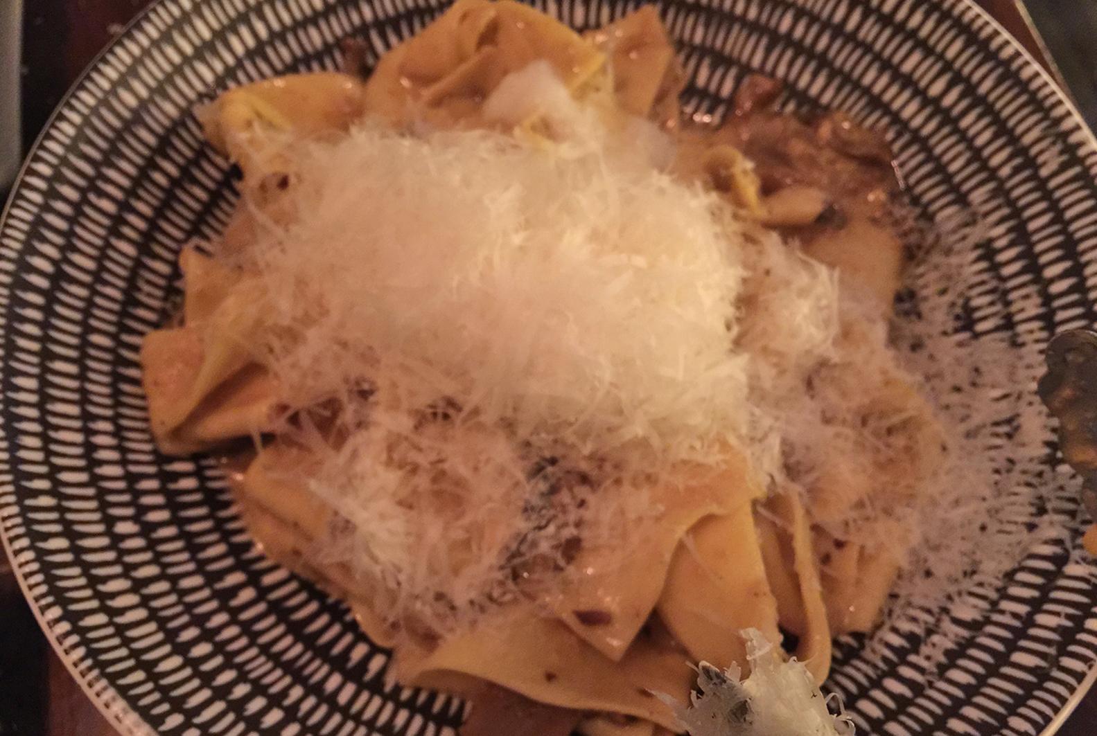 Pappardelle w/ Wild Mushroom Ragout